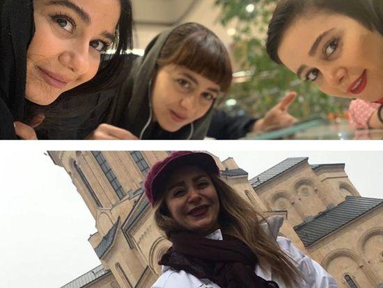 الناز حبیبی و خواهرش