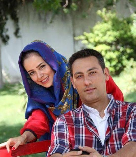 الناز حبیبی و همسر سابقش مهدی صاحب زمانی