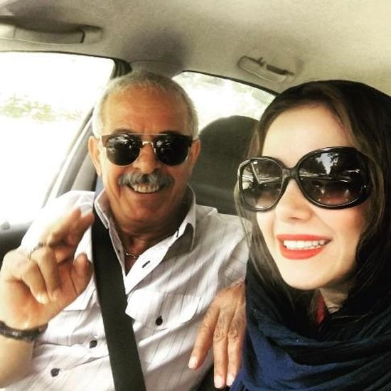 پدر الناز حبیبی