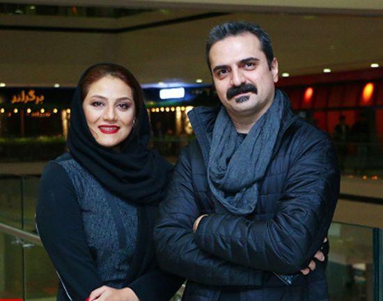 همسر شبنم مقدمی، شبنم مقدمی و همسرش علیرضا آرا
