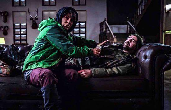 مهناز افشار و مجید صالحی در فیلم شاه کش