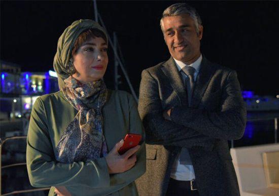 پژمان جمشیدی و هانیه توسلی در فیلم ایده اصلی
