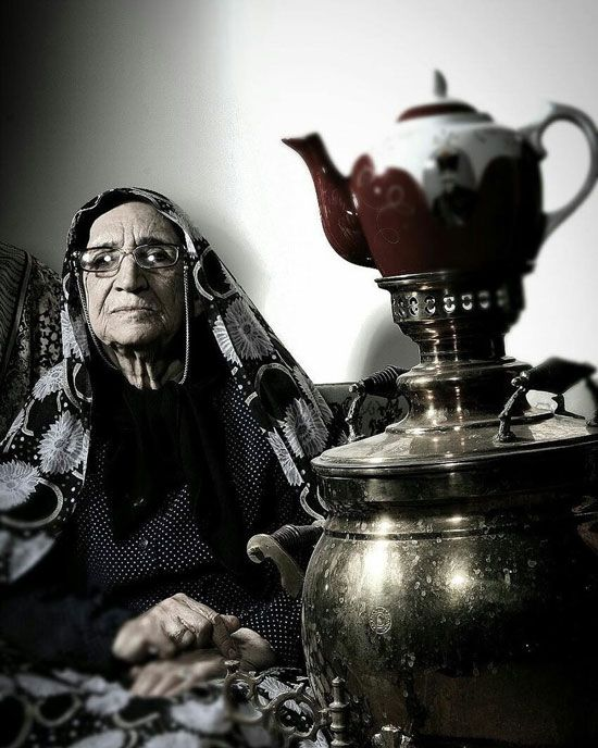 مادر بزرگ ندا قاسمی