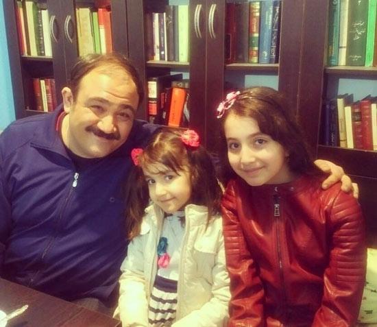 روژان تقی زاده و مهران مدیری