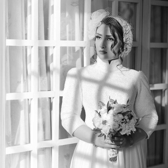 لباس عروس الهام طهموری