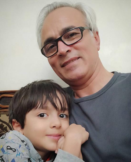 قربان نجفی و پسرش مانی