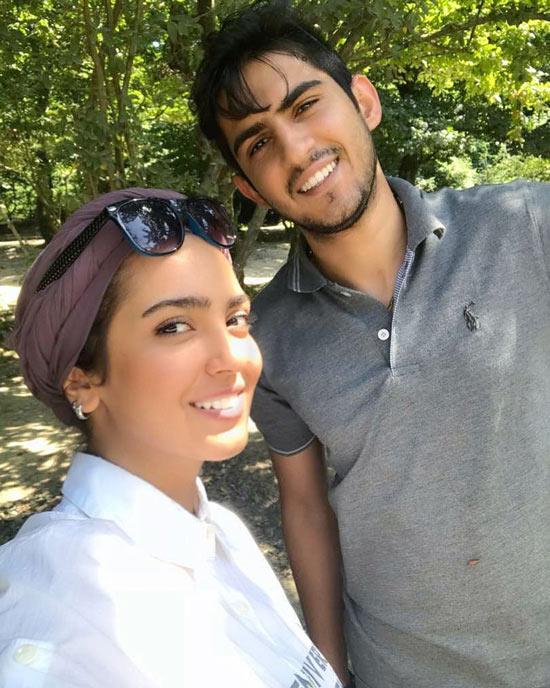 مونا کرمی و برادرش مجید