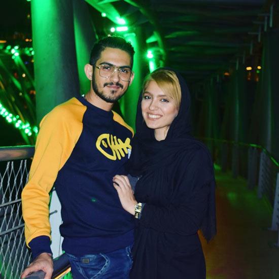 همسر مونا کرمی