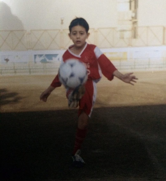 عکس کودکی سعید فخاری