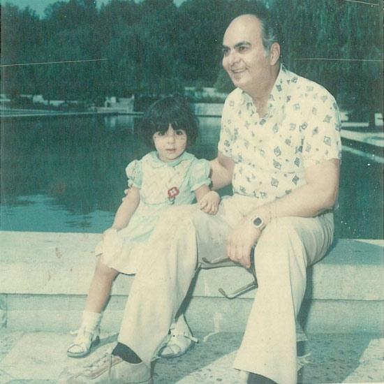 عکس کودکی شیوا ابراهیمی