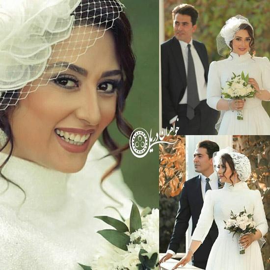 عکس های مراسم ازدواج حامد احمدجو و الهام طهموری