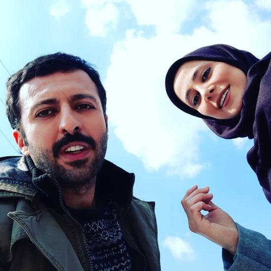 حسام محمودی و الناز حبیبی