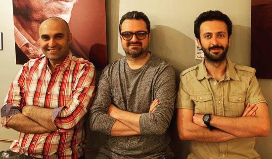 حسام محمودی و علیرضا آرا