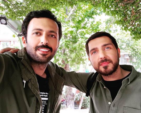 حسام محمودی و محمدرضا غفاری