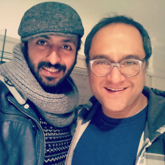 حسام محمودی و رامبد جوان