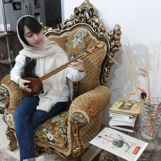 عکس یوهانا دختر نسرین بابایی