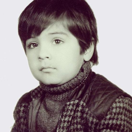 عکس کودکی سامرند معروفی