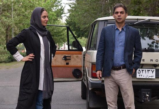 پیمان معادی و مهناز افشار در فیلم ناگهان درخت