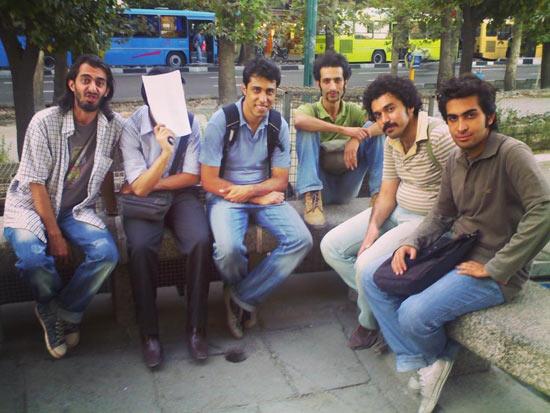 عکس قدیمی از امیرحسین طاهری