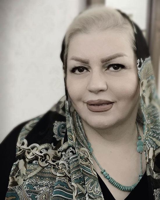 عکس مادر مهناز کرباسچیان