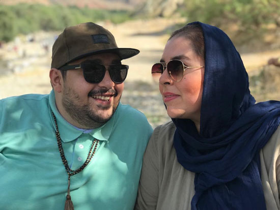 مهناز کرباسچیان و برادر مرحومش محمد