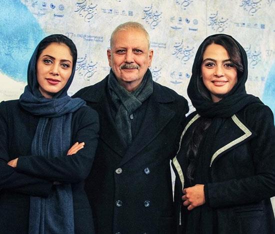 جلیل فرجاد و مونا فرجاد پدر و خواهر مارال فرجاد
