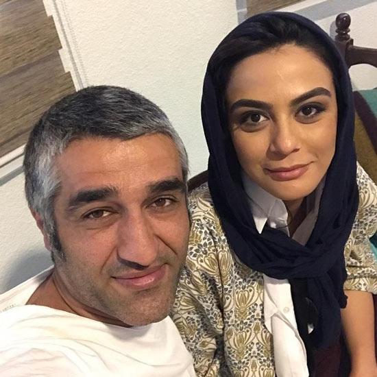 مارال فرجاد و پژمان جمشیدی
