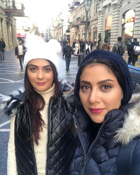 مارال فرجاد و خواهرش مونا فرجاد