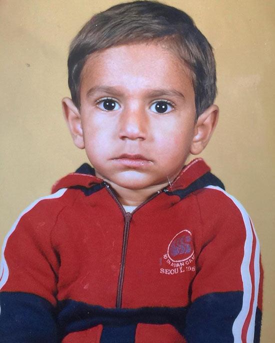 عکس کودکی سهیل سنگرزاده